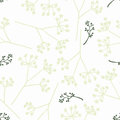 Vintage seamless floral pattern Stock Images