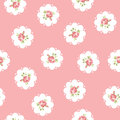Vintage seamless floral pattern inspired with roses Royalty Free Stock Photography