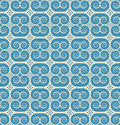 Vintage seamless monochrome geometrical pattern Royalty Free Stock Photo
