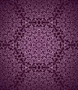 Vintage seamless pattern detailed magenta Stock Photography