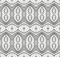 Vintage Seamless Vector Wallpaper Royalty Free Stock Photo