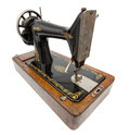 Vintage Sewing Machine Royalty Free Stock Image