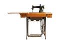 Vintage sewing machine Royalty Free Stock Photo