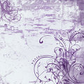 Vintage shabby background with classy patterns Royalty Free Stock Photos
