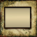 Vintage shabby background with frame of film strip grunge for photo and text Royalty Free Stock Images