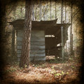 Vintage Shed Photograph Royalty Free Stock Photos