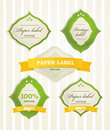 Vintage shopping labels Stock Photography