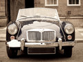 A vintage sport car Royalty Free Stock Photo