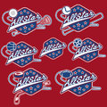 vintage sports all star crests