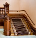 Vintage staircase Stock Images