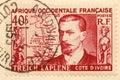 Vintage stamp Royalty Free Stock Photo