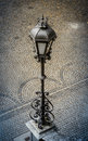 Vintage Street Lamp In Europe Royalty Free Stock Photo