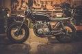 Vintage Style Cafe-racer Motor...