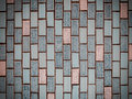 Vintage style design of pastel color mosaic tile Royalty Free Stock Photo