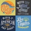 Vintage T-shirt Graphic Set 1