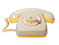 Vintage telephone. Stock Photos