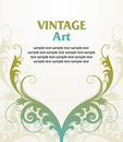 Vintage template frame Royalty Free Stock Photos