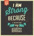 Vintage Template - Retro Design - Quote Typographic Background