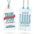 Vintage Thank You Tags