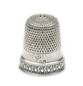 Vintage thimble Royalty Free Stock Photo