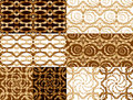 Vintage tiles set Royalty Free Stock Photography