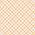 Vintage tiling seamless pattern with thin criss-cross diagonal lines. Abstract stroke retro ornament