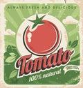 Starodávny paradajka plagát