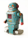 Vintage Toy Robot Royalty Free Stock Images