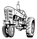 Vintage tractor Royalty Free Stock Photo