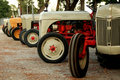 Vintage tractors Royalty Free Stock Photos