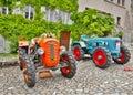 Vintage tractors Royalty Free Stock Photo