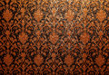 Vintage traditional thai line art wallpaper a Stock Photos