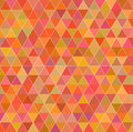 Vintage triangle background orange backgraound textured patern Royalty Free Stock Photos