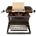 Vintage Typewriter Stock Photo