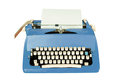 Vintage typewriter isolated Stock Image