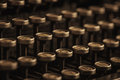 Vintage Typewriter Keys Royalty Free Stock Photo
