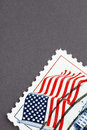 Vintage US postage Royalty Free Stock Photo