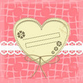 Vintage vector Frame Design For Greeting Card Royalty Free Stock Photography