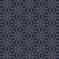 Vintage vector pattern. repeating with abstract dotted flower.