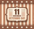 American Veterans day Royalty Free Stock Photo