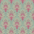 Vintage victorian seamless background Royalty Free Stock Photo