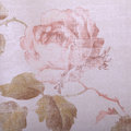Vintage victorian wallpaper with rose floral pattern close up Royalty Free Stock Photo