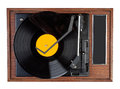 Vintage vinyl record Royalty Free Stock Photo