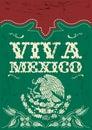 Starodávny ústna skúška mexiko mexičan dovolenka vektor