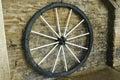 Vintage wagon wheel Royalty Free Stock Photos