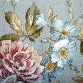 Vintage Wallpaper With Floral ...