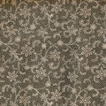 Vintage wallpaper lace used with flower bouquet natural grainy surface circa Stock Photos