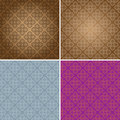 Vintage Wallpaper Seamless Pattern Original Design Royalty Free Stock Images