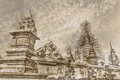 Vintage wat ban den maetang chiangmai thai temple in thailand Royalty Free Stock Photography