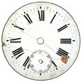 Vintage Watch Dial 5 Royalty Free Stock Photo
